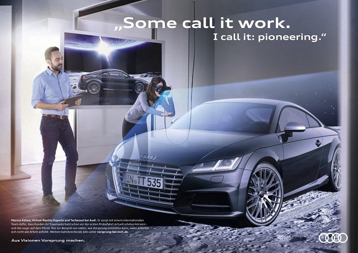 audi steht fr vorsprung durch technik mit pioniergeist mut und teamfhigkeit fllen unsere mitarbeiter diesen claim jeden tag aufs neue mit leben sie - Audi Ingolstadt Bewerbung